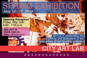 City Art Lab -- Spring Exhibit
