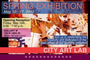 City Art Lab -- Spring Exhibit