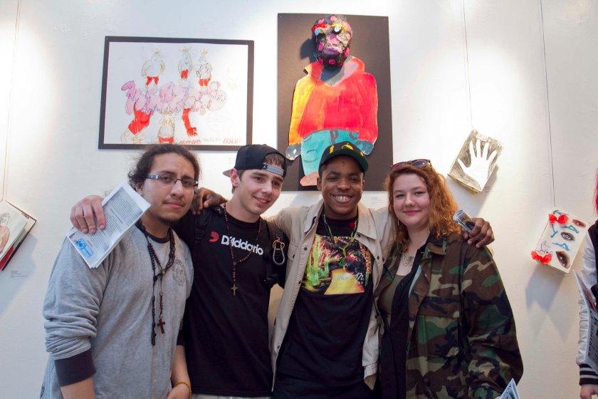 City Art Lab Gallery M Reception