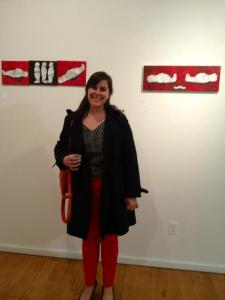 At the City College Graduate Student Art Show last year!