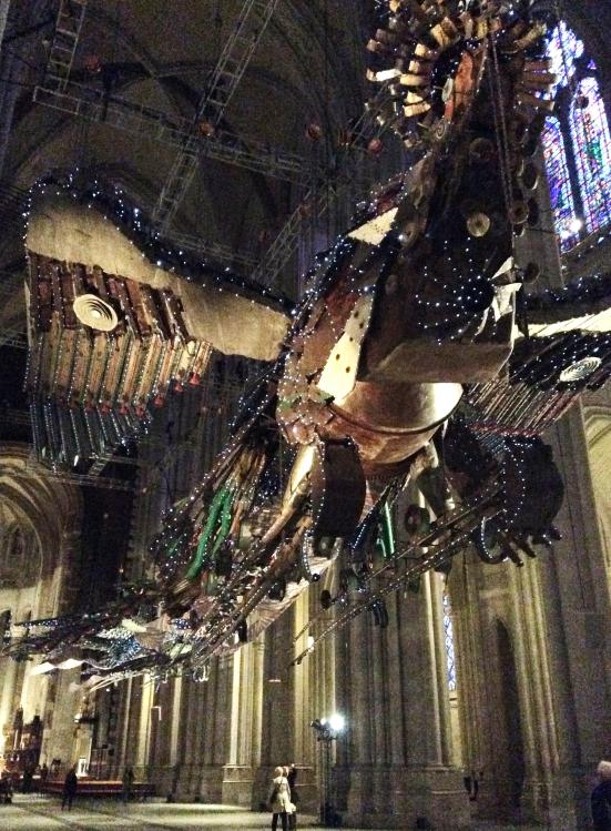 'Xu Bing: Phoenix, Cathedral of St. John the Divine', 2014