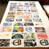 Final Day of Rotation One – Printmaking and Watercolor